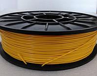 PLA -пластик для печати на 3D принтере. Желтый 1.75мм, 0.75 КГ
