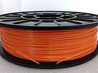 PLA - пластик для печати на 3D принтере. Оранжевый. 1,75 мм, 750 грамм