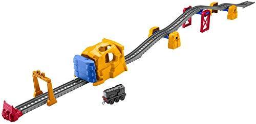 Фишер Прайс Томас и Друзья Моторизированный поезд  Взрыв в тоннеле с горками Fisher-Price Tunnel Blast