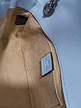 Сумка, клатч Гуччі Marmont натуральна шкіра 22 см, фото 7