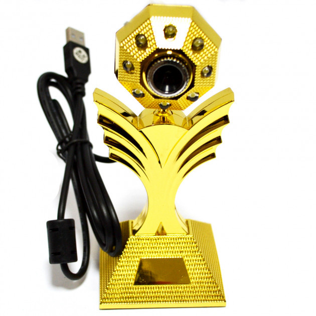 Веб камера со встроенным микрофоном WC-HD (Цветок)