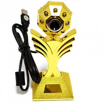 Веб камера со встроенным микрофономWC-HD (Цветок)