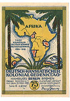 Банкнота Африканские Колонии Германии 75 пфенигов 1922 г