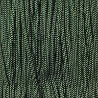 Шнур для одежды 4мм цв оливковый (уп 100м) 000Ф