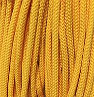 Вішалка для одягу з наповнювачем 6мм кол жовтий (уп 100м) Ф