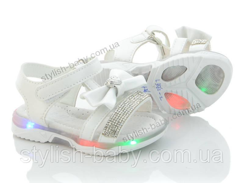 Детская летняя обувь оптом. Детские босоножки 2020 бренда ВВТ для девочек (рр. с 21 по 26)