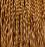 Вішалка для одягу з наповнювачем 5мм кол гірчичний (уп 100м) 033Ф