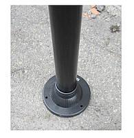 """Светильник парковый уличный """"Столб"""" 0.50 м с базой для столба и шар φ250мм белый IP44, фото 4"""