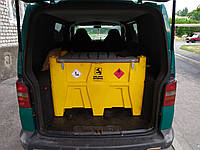 Доставка дизельного топлива по г. Днепр до 500 литров
