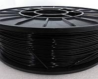 PLA - пластик (750 грамм) для печати на 3D принтере. Черный. 1,75мм. Супер цена!
