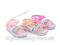 Детская коллекция летней обуви оптом.  Детские босоножки 2020 бренда ВВТ для девочек (рр. с 24 по 29)