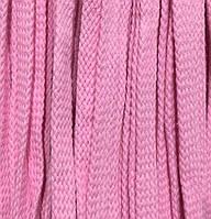 Шнур для одежды без наполнителя х/б 16мм цв розовый (уп 100м) Ф