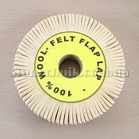 Круг фетровый лепестковый 150х38х32 мм
