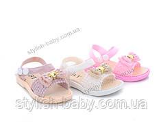 Детская коллекция летней обуви оптом.  Детские босоножки 2020 бренда ВВТ для девочек (рр. с 26 по 30)