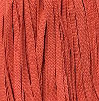 Шнур для одежды без наполнителя х/б 16мм цв оранжевый (уп 100м) Ф