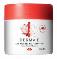 Крем с витамином А против морщин 113 г Derma E (США), официальный сайт