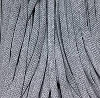 Шнур для одежды без наполнителя х/б 8мм цв серый (уп 100м) Ф