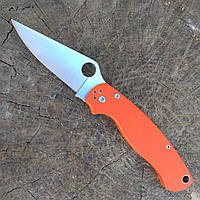 Складной нож S30-VO Spyderco нержавейка полуавтомат (складний ніж)