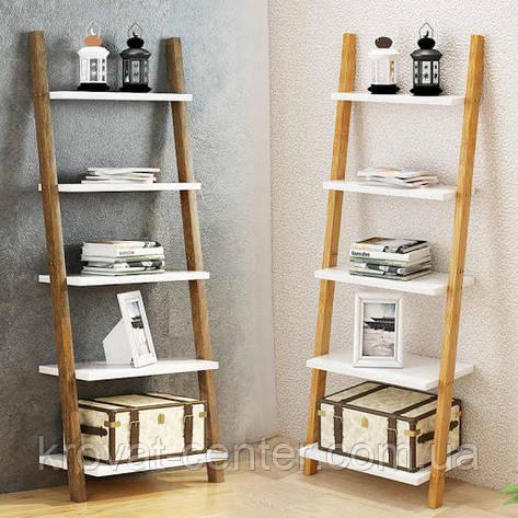 """Этажерка стеллаж лестница из массива дерева """"Стелла"""" от производителя, фото 2"""