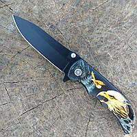 Складной нож 1814 нержавейка полуавтомат (складний ніж)