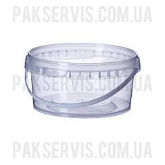 Ведро пластиковое пищевое 0,5л Vital Plast, 1/300