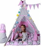 Палатка детская Вигвам домик для девочки Мечта. Арт.02332, фото 1