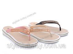 Летняя обувь 2020 оптом. Подростковые шлёпанцы бренда ВВТ (рр. с 36 по 41)