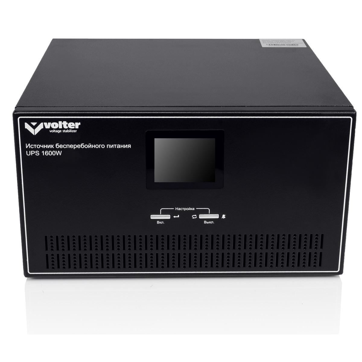 ИБП Volter UPS-1600 (1600 Вт) с правильной синусоидой 24В