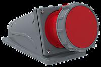 Розетка стационарная ССИ-134 63А-6ч/380-415В 3Р+РЕ IP67 MAGNUM IEK