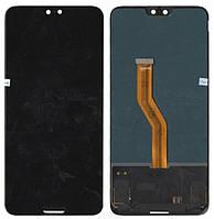 Дисплей + сенсор Huawei P20 Pro (CLT-L04, CLT-L09, CLT-L29) Черный TFT