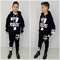 Модний спортивний костюм NEW YORK Чорний, фото 1