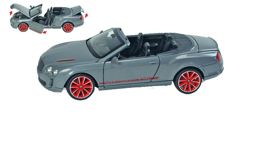Металлическая модель машины Bentley со световыми и звуковыми эффектами