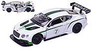 Металлическая модель машины Bentley Continental GT3 со световыми и звуковыми эффектами