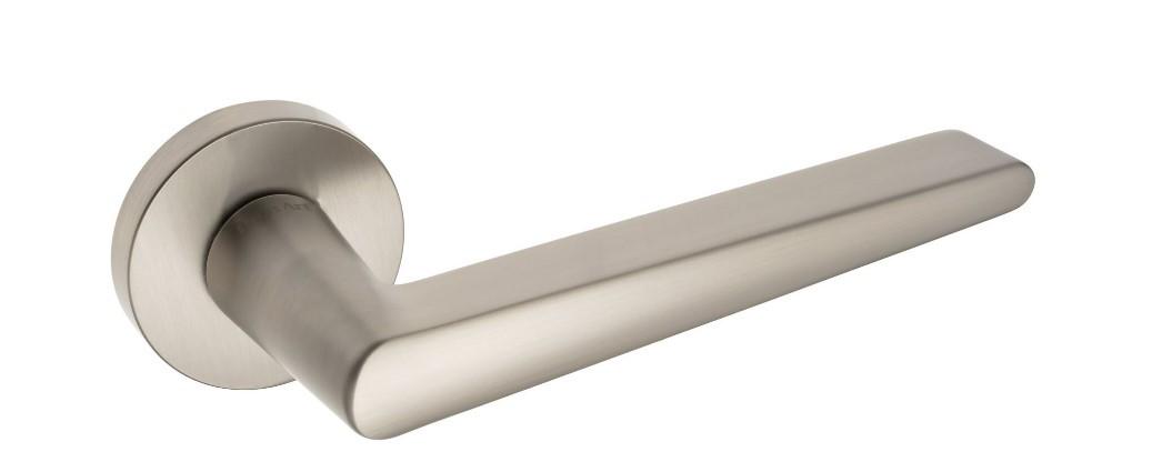 Дверная ручка Rich-Art 386 R65 MSN матовый никель (Китай)