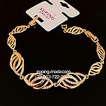 Красивый браслет из медицинского золота, фото 2