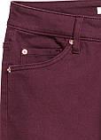 Фиолетовые демисезонные зауженные джинсы H&M, фото 2