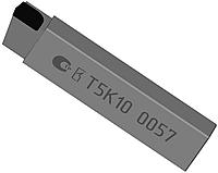 Резец проходной упорный прямой 16х10х100 Т5К10 ЧИЗ