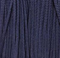 Шнур для одежды с наполнителем 5мм цв синий (уп 100м) 026Ф