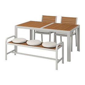 IKEA Комплект мебели садовой SJÄLLAND (992.676.32)
