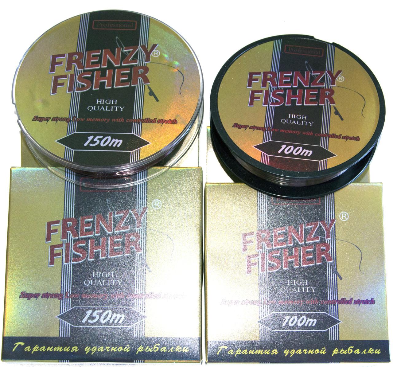 "Леска Frenzy Fisher ""Gold Crucian"" 150м 0,35мм SF-4"