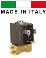 """Электромагн. клапан для воды CEME 6610, НЗ, 1/4"""", 2 мм, 90 C°, 220В нормально закрытый прямого действия"""