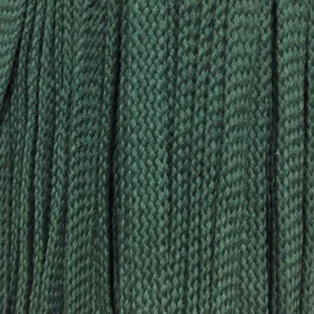 Шнур для одежды без наполнителя х/б 16мм цв зеленый (уп 100м) Ф