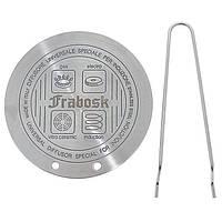 Диск для индукции с щипцами FRABOSK 22 см + Бонус