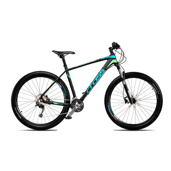 """Велосипед 27,5"""" CROSS XTREME рама 20"""" 2018 черный"""