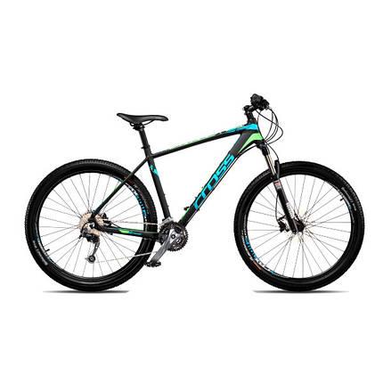 "Велосипед 27,5"" CROSS XTREME рама 20"" 2018 черный, фото 2"