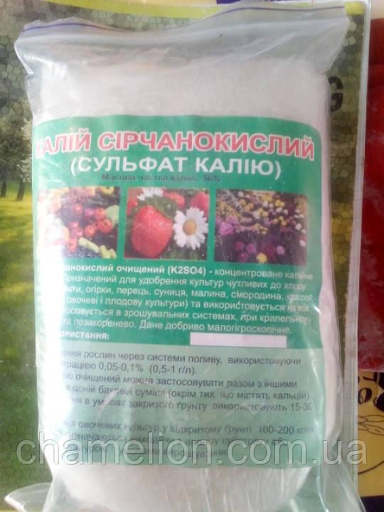 Калий сірчанокислий 500 грам (Калий сернокислый 500 грамм)