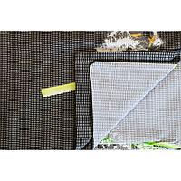 Комплект постельного белья Вилюта 9847 полуторный Бело-черный с серым (hub_Tbkc49928)