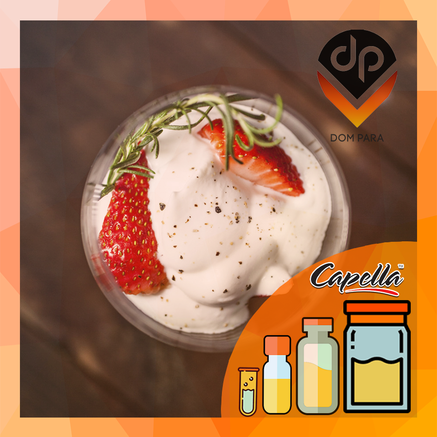 Ароматизатор Capella Strawberries and Cream| Клубника со сливками