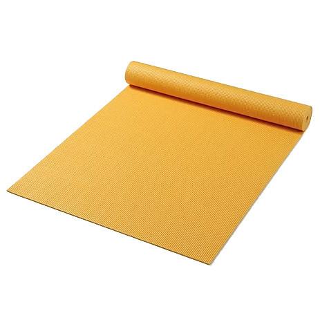 Мат для йоги Friedola Basic желтый
