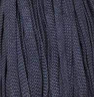 Шнур для одежды без наполнителя х/б 16мм цв джинс (уп 100м) Ф